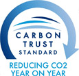 Carbon Trust Standard – Reducing CO2 year on year